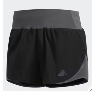 Adidas Running Shorts Black Gray Size XL